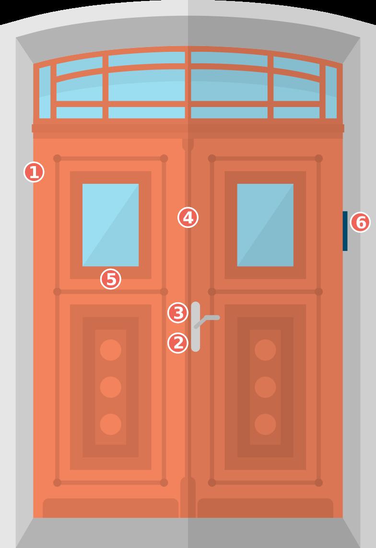 Einbruchschutz Tür: An diesen Punkten können Sie bei der Türsicherung ansetzen